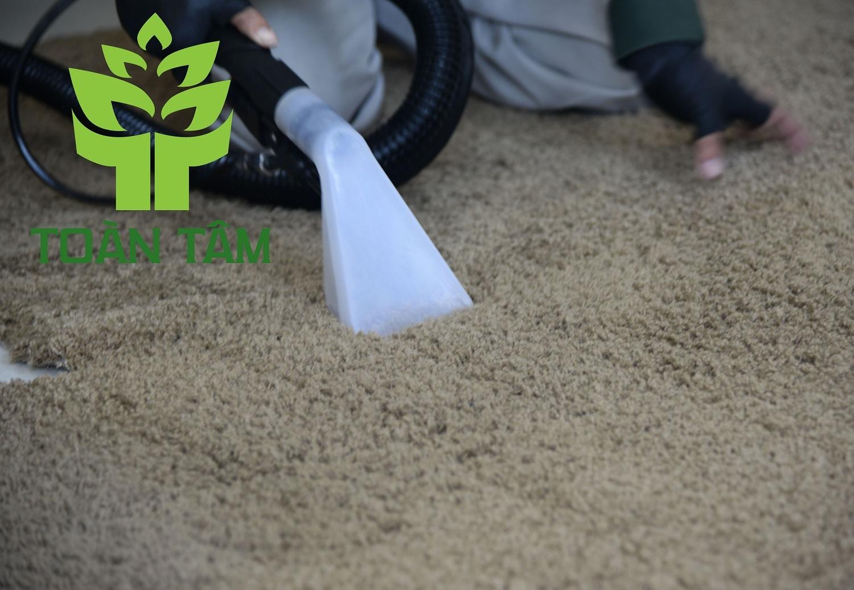 Toàn Tâm với dịch vụ giặt thảm luôn dẫn đầu tại TPHCM