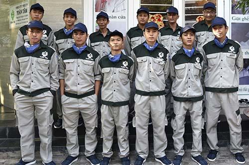 Đội ngũ nhân viên chuyên nghiệp tại Toàn Tâm