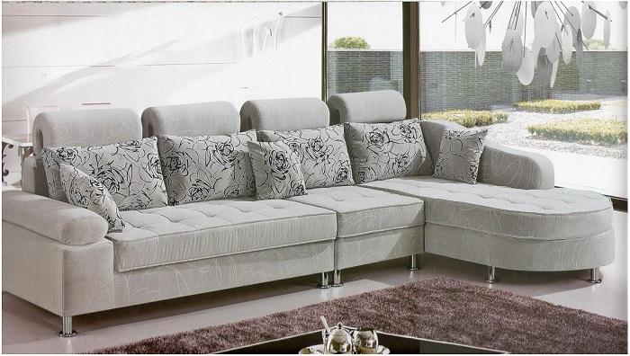 Ghế sofa nỉ được sử dụng phổ biến nhất